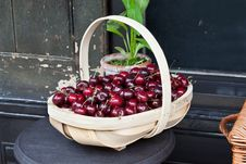 Free Cherry Basket Stock Photo - 20537060