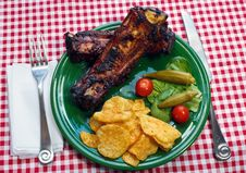 Free Bar-B-Que Ribs Stock Photos - 20537163