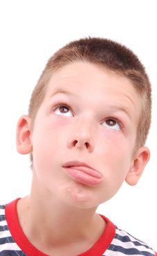 Free Portrait Of A Boy Stock Image - 20537261
