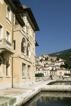 Free Bakar Old Hotel Jadran, Adriatic Royalty Free Stock Photography - 20537377