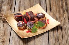 Free Chocolate Cookies Stock Image - 20537451