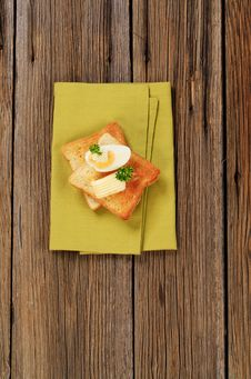Free Toast And Butter Royalty Free Stock Image - 20537496