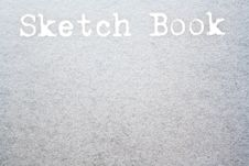 Free Sketch Book Stock Image - 20537901