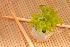Free Sushi With Chopsticks Stock Image - 20538411