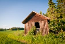 Free Red Barn Royalty Free Stock Photography - 20538607