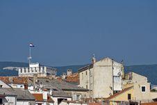 Roofs Of Novi Vinodolski Stock Image