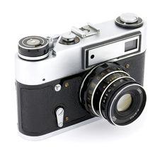 Free Old Photo Camera Royalty Free Stock Photography - 20538797