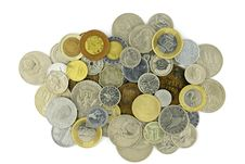 Free Coins Collection Royalty Free Stock Images - 20538819