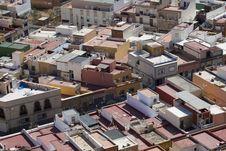 Free Spanish Rooftops Royalty Free Stock Photo - 20539135