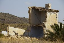 Free Ruined Spanish House Stock Photo - 20539170