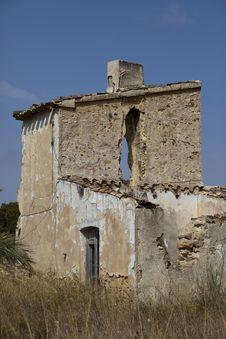 Free Ruined Spanish House Stock Photo - 20539240
