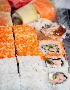 Free Sushi Rolls Stock Photography - 20539602