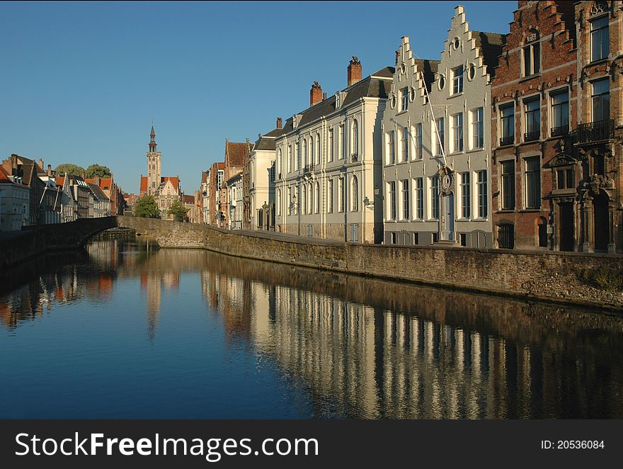 Bruges, early morning