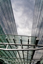 Free The Architectural Building Business Center Is Cyan Stock Photos - 20541523