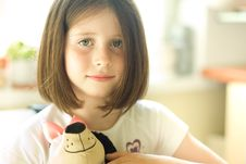 Free Girl With A Toy Stock Photography - 20540002