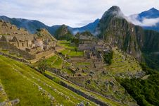 Free Machu Pichu Royalty Free Stock Photos - 20540678