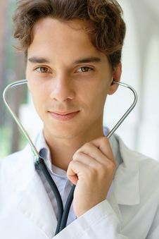 Free Young Smiling Doctor Stock Photos - 20540863