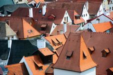 Free Roofs Of Krumlov Royalty Free Stock Image - 20540926