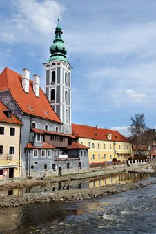Free Krumlov Royalty Free Stock Photo - 20540955
