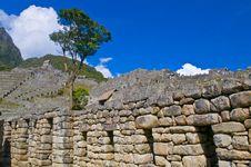Free Machu Pichu Stock Photography - 20540982