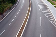 Free Curved Road Stock Photo - 20541250