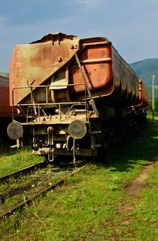 Free Freight Train HDR Royalty Free Stock Photography - 20541867