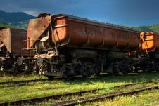 Free Freight Train HDR Royalty Free Stock Image - 20542226