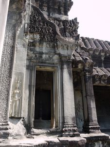Free Doorway In Angkor Watt Royalty Free Stock Photos - 20542558