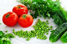 Free Fresh Vegetables Stock Image - 20542701