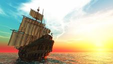 Free Sailing Boat Stock Image - 20542751
