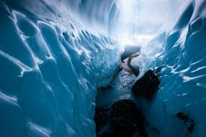 Wall Of Ice Royalty Free Stock Images