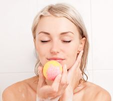 Free Woman Taking A Bath Stock Photo - 20543900