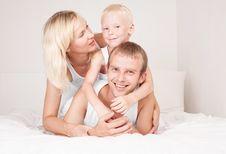 Free Family At Home Stock Photos - 20544043
