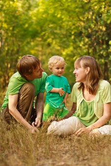 Free Happy Family Together In Nature Stock Photo - 20544380