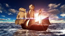 Free Sailing Boat Stock Photo - 20544480