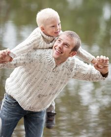 Free Father And Son Royalty Free Stock Photography - 20544517