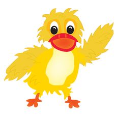 Free Illustration Nice Duckling Royalty Free Stock Image - 20544646