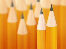 Free Pencils Royalty Free Stock Photography - 20544657