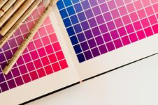Free Color Card Printing Royalty Free Stock Images - 20544979