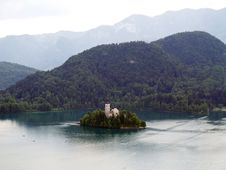 Free Church Of Bled Royalty Free Stock Images - 20546959