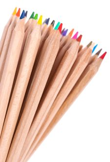 Free Colored Crayons Stock Photo - 20547020