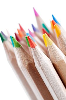 Free Colored Crayons Stock Photography - 20547022
