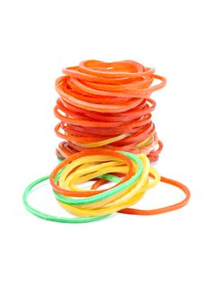 Free Red Elastic. Royalty Free Stock Photos - 20547288