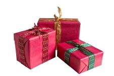 Free Red Gift Boxes Stock Images - 20548304