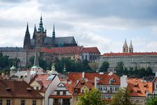 Free Prague City And Cathedral Saint-Guy Royalty Free Stock Image - 20548456
