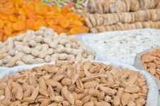 Free Almonds And Other Dried Fruits And Nuts Stock Images - 20548554