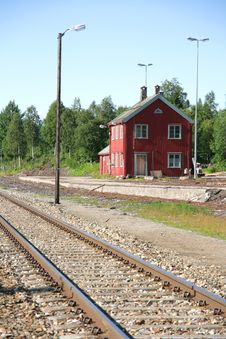 Free Old Abandoned Railway Station Stock Images - 20548914