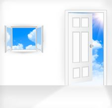 Free Door Royalty Free Stock Image - 20549416