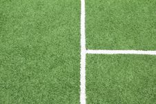 Free Lines On Soccer Field, Stock Photography - 20549482