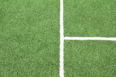 Lines On Soccer Field,
